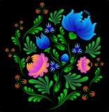 Modelo de flor Imagenes de archivo