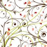 Modelo de flor stock de ilustración