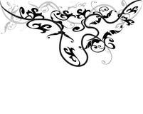 Modelo de flor abstracto Stock de ilustración