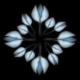 Modelo de flor abstracto Libre Illustration