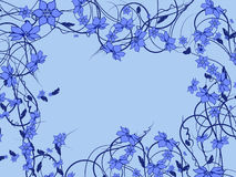 Modelo de flor decorativo Imagen de archivo
