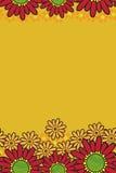 Modelo de flor inconsútil stock de ilustración