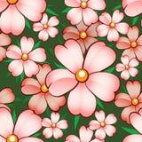 Modelo de flor inconsútil Foto de archivo libre de regalías