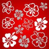 Modelo de flor vectorial libre illustration