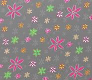 Modelo de flores colorido stock de ilustración
