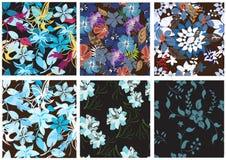 Modelo de flores inconsútil Imagen de archivo libre de regalías