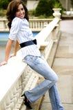 Modelo de forma adolescente ocasional Fotos de Stock