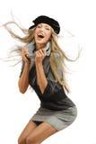 Modelo de forma feliz Fotos de Stock