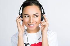 Modelo de forma - música Fotografia de Stock Royalty Free