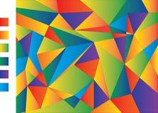 Modelo de formas geométricas Ilustración del vector stock de ilustración