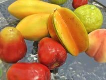 Modelo de frutas Imágenes de archivo libres de regalías