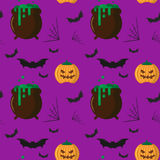 Modelo de Halloween Imágenes de archivo libres de regalías