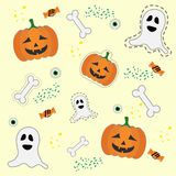 Modelo de Halloween Fotos de archivo