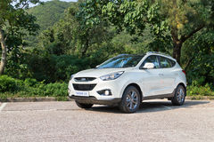 Modelo 2013 de Hyundai TUCSON 2,0 Foto de Stock