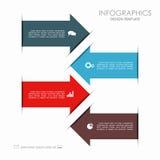 Modelo de Infographic puede ser utilizado para la disposición del flujo de trabajo, diagrama, opciones del paso del negocio, band Fotos de archivo