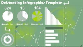 Modelo de Infographics stock de ilustración