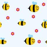 Modelo de la abeja Imagen de archivo libre de regalías
