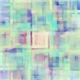 Modelo de la acuarela abstracta colorida geométrica stock de ilustración