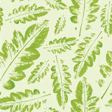 Modelo de la acuarela del fondo inconsútil de la textura de las hojas ilustración del vector