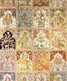 Modelo de la alfombra Fotografía de archivo