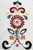 Modelo de la alfombra hecho de las lanas para el fondo Fotografía de archivo