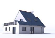Modelo de la arquitectura, casa d libre illustration