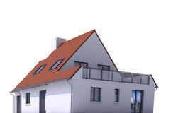 Modelo de la arquitectura, casa e libre illustration
