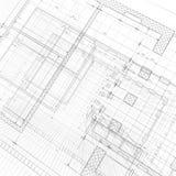 Modelo de la arquitectura stock de ilustración