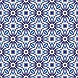 Modelo de la baldosa cerámica Adornos islámicos, indios, árabes Mar del damasco libre illustration