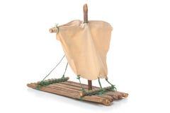 Modelo de la balsa Foto de archivo libre de regalías