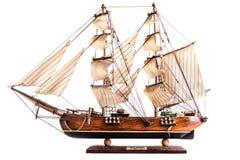 Modelo de la barca Imagenes de archivo