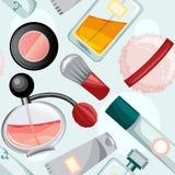 Modelo de la belleza stock de ilustración