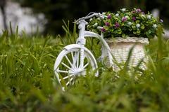 Modelo de la bicicleta plástica Imágenes de archivo libres de regalías