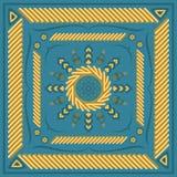 Modelo de la bufanda Fotos de archivo