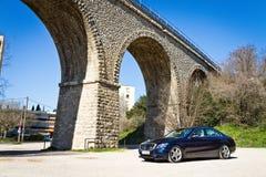 Modelo 2015 de la C-clase 2014 de Mercedes-Benz Fotografía de archivo libre de regalías