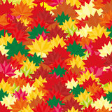 Modelo de la caída de Autumn Background Abstract Leaves Square para sus banderas, papeles pintados, correo, diseño, ofertas, tarj stock de ilustración