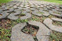 Modelo de la calle del pie en los parques fotografía de archivo libre de regalías