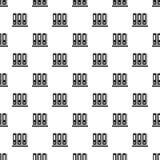 Modelo de la carpeta de la oficina inconsútil ilustración del vector