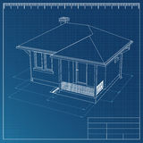 Modelo de la casa Libre Illustration