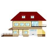 Modelo de la casa Imagenes de archivo