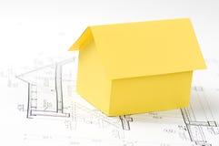 Modelo de la casa foto de archivo libre de regalías