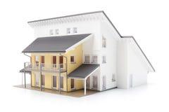 Modelo de la casa de la familia Imagen de archivo libre de regalías