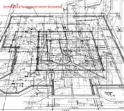 Fondo abstracto del modelo. Vector Imagen de archivo