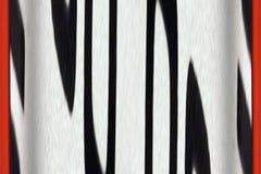 Modelo de la cebra Imagen de archivo libre de regalías
