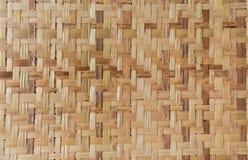 Modelo de la cestería tailandesa del estilo foto de archivo
