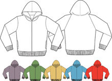 Modelo de la chaqueta Imágenes de archivo libres de regalías