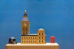 modelo de la ciudad de Londres Fotos de archivo