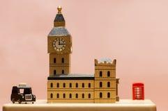 modelo de la ciudad de Londres Fotografía de archivo