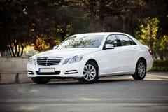 Modelo de la clase del Benz e de Mercedes Imagenes de archivo