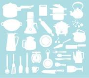 Modelo de la cocina Foto de archivo libre de regalías
